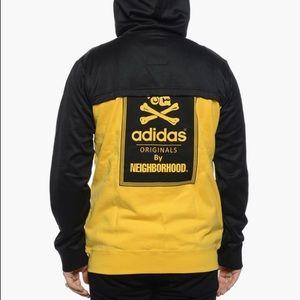 Men's Adidas NH Zipup Hoodie x Neighborhood Black NWT